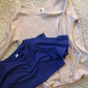TWO SWEATERS- Old Navy ⭐️PRICE IS FOR BOTH ⭐️